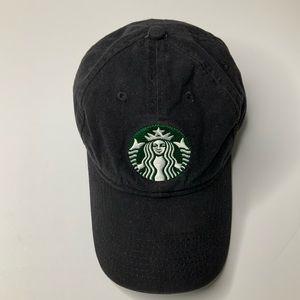 Starbucks cap Black with Double Tail Siren